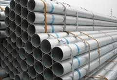 Hot DIP Galvanized Round Carbon Steel Pipe