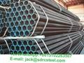 Q235 ERW Welded Round Steel Pipe