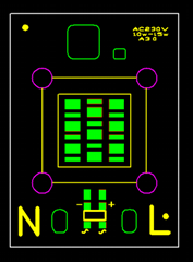 免驅動光引擎LED10W交流投光燈光源