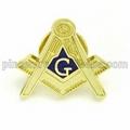 Custom Masonic Lapel Pin