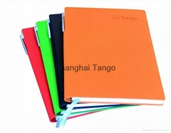 hot popular cheap stationery notebooks with pen holder