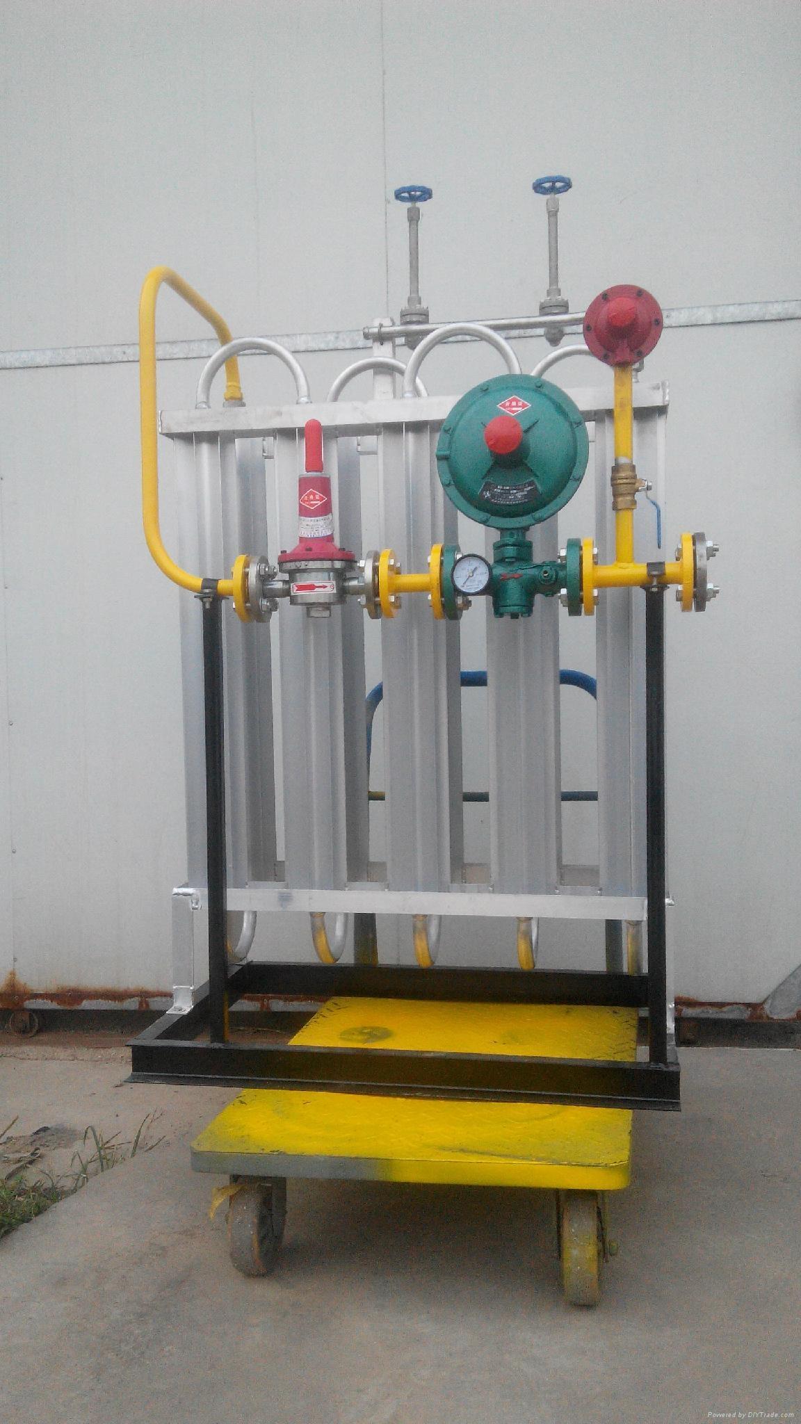 飯店用LNG小汽化減壓裝置 1