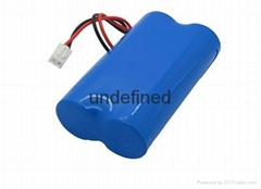 7.4V扩音器 拉杆音箱 锂电池带智能保护板 18650*2组合