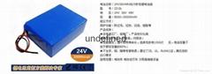 定製軟包24V電動車鋰電池8a