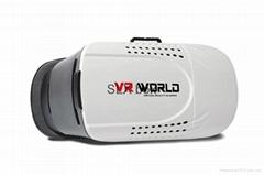 智能手機看3D電影 VR BOX虛擬現實眼鏡 工廠訂做