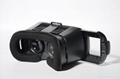 智能手機看3D電影 VR BOX虛擬現實眼鏡 工廠訂做 2