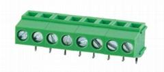 FS128R-5.0升降式90度弯针连接器接线端子座