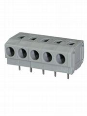 PCB线路板5.0MM间距DG235W弹簧式接线端子FS260W