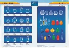 Bottle of Bacteria&Vase