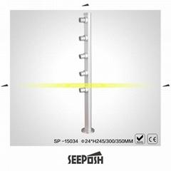led展櫃萬向展櫃立杆射燈