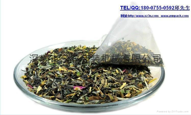 The nylon package triangle tea bag packing machine 1