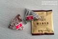 The nylon package triangle tea bag packing machine 5