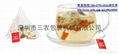 Herbal tea corn fiber triangle bag packaging machine 2