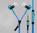 Zipper Earphone for Smart Phone
