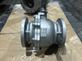 JIS 10K cast iron full bore ball va  e Q41F-10K 1