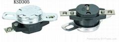 大功率温控器KSD305 AC250V45A