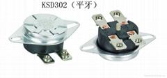 大功率温控器KSD302 AC250V20A