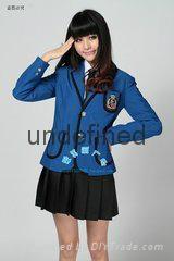 學生西服套裝定做 成都聖浪服飾專業定做制服校服