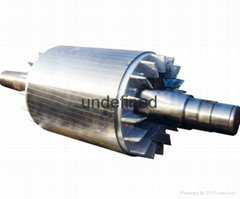 lamianted stator core for motor and generator