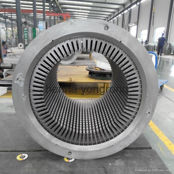 wind turbine generator stator and rotor  2