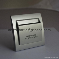 Shenzhen fashion design imported fire-proofing PC hotel power card key switch