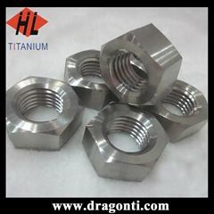 titanium alloy nuts DIN934 m8