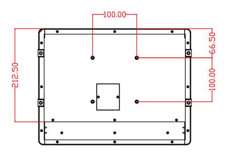 12.1寸超薄型防塵耐高溫平板電腦 5