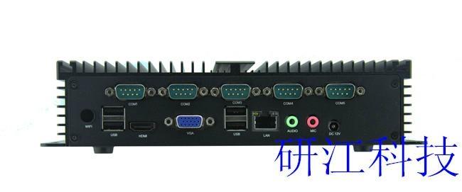 無風扇防塵防震高性能小型工控機 3