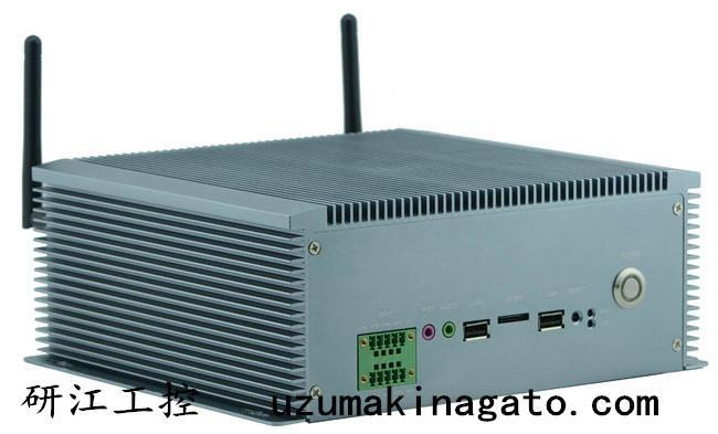 10串口雙VGA8—36V寬壓外插SIM卡無風扇工控機 1