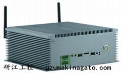10串口雙VGA8—36V寬壓外插SIM卡無風扇工控機