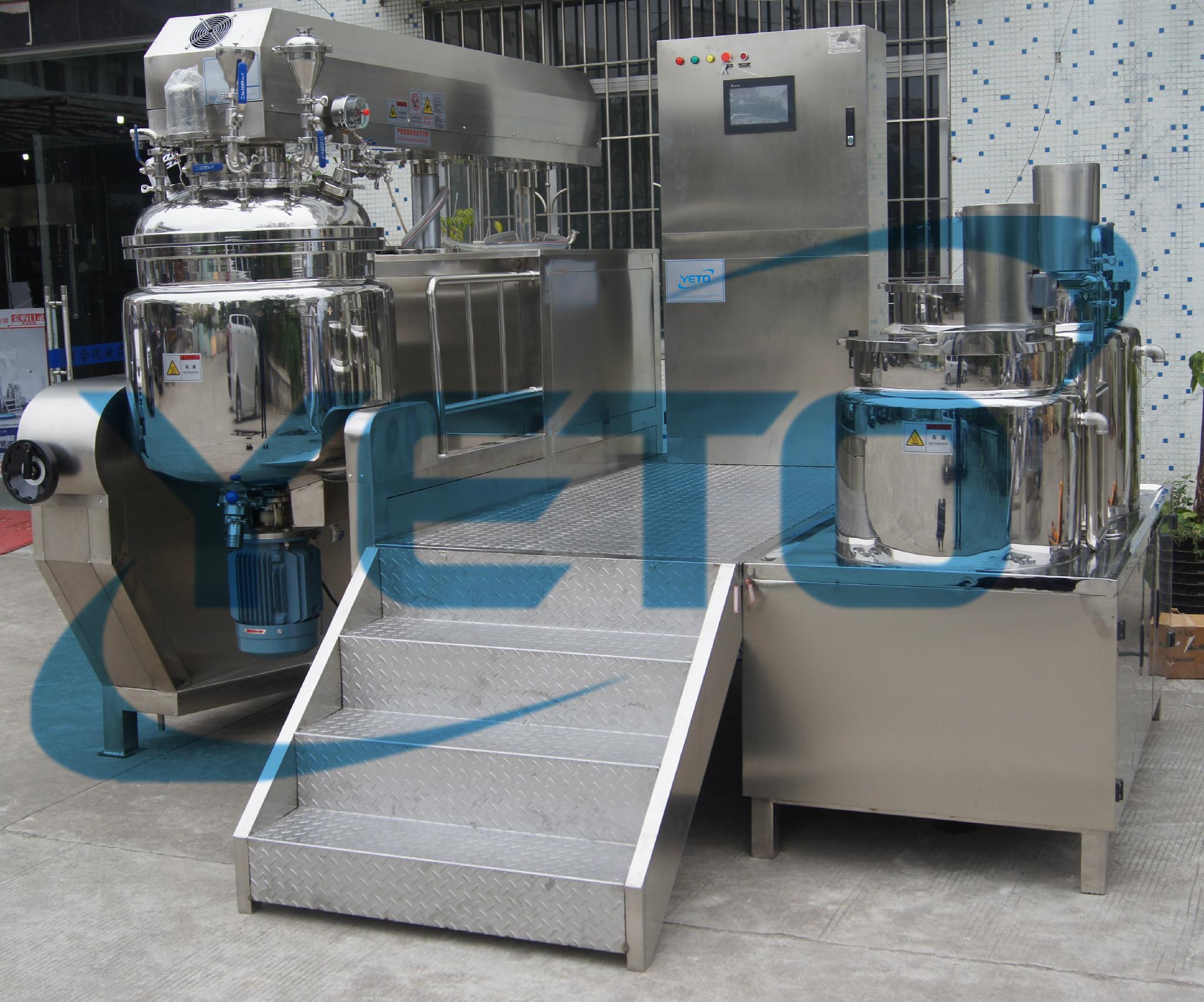 膏体真空乳化机液压升降乳化机 1