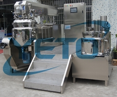 new style body cream lotion vacuum making mixer,cosmetic manufacture equipment
