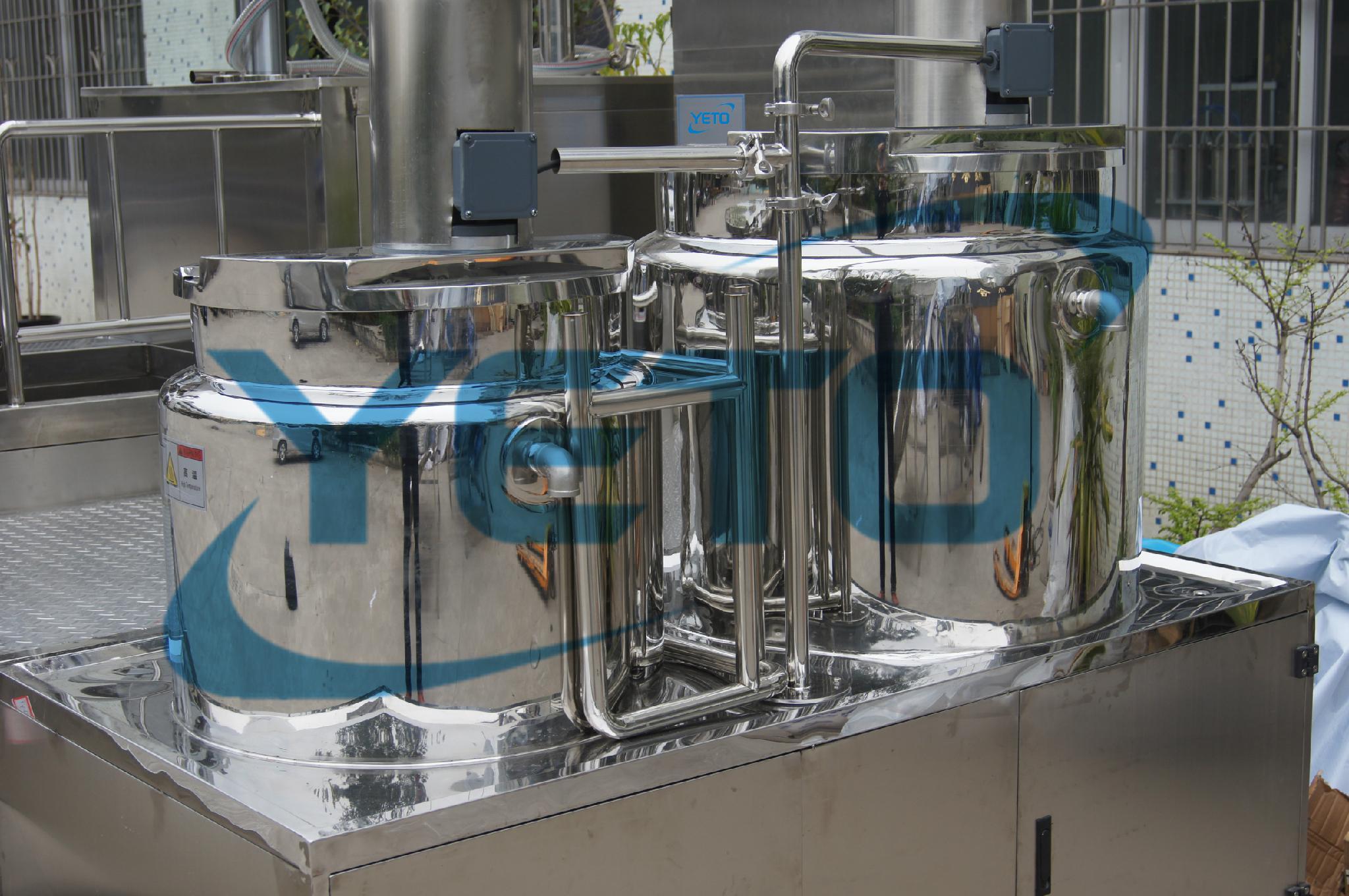 膏体真空乳化机液压升降乳化机 5