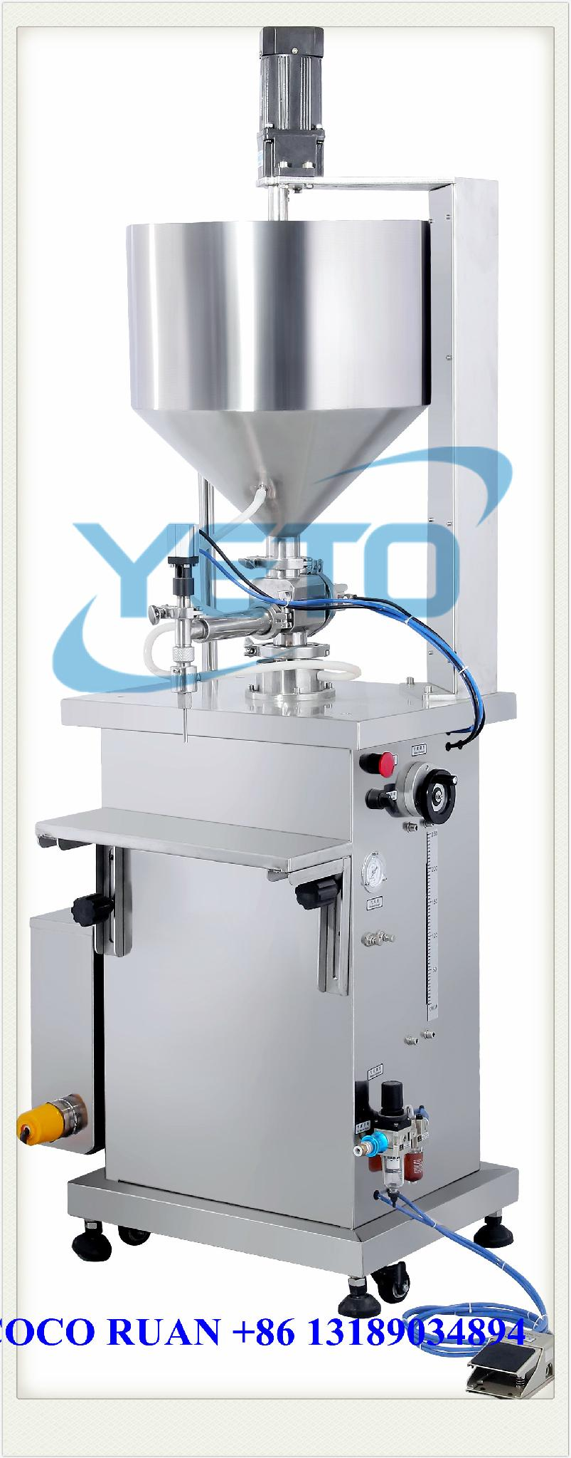 semi e-liquid olive oil filling machine manufacture factory 5