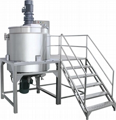 5000L PMC open tank lotion homogenizer mixer equipment manufacture