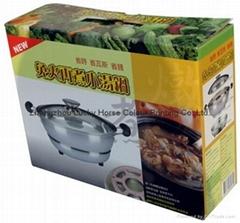 廚房用具湯鍋彩印瓦楞箱包裝