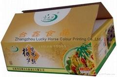 梅菜筍絲彩印箱