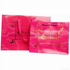 customized design company logo apparel bag shopping bag