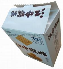 中國供應商食品包裝盒餅乾盒
