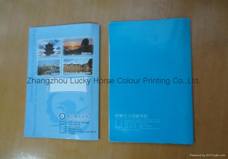 中國工廠定製批髮膠印筆記本 3