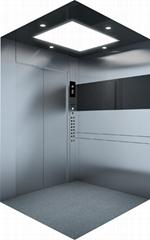 stainless steel mirror passenger elevator