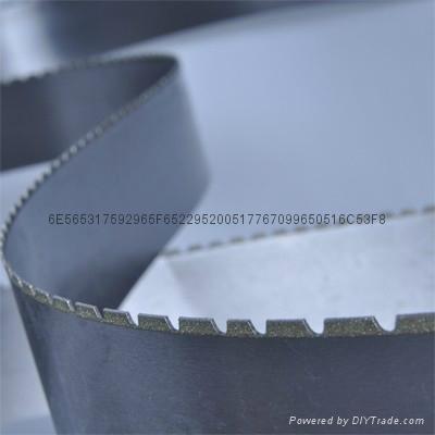 專業生產大理石石墨切割帶鋸條 2