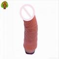 2016 Waterproof Personal Care Body Massage Big Dildo Penis Vibrator For Woman