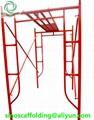 Steel H Frame Scaffolding shoring frame