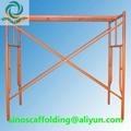 Steel H Frame Scaffolding shoring frame scaffolding ladder frame for constructio 2