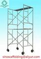 Steel H Frame Scaffolding shoring frame scaffolding ladder frame for constructio 4