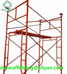 Sscaffolding ladder H frame for construction