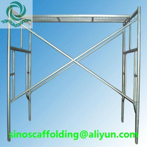 Painted H Frame Scaffolding 1