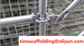 High Quality Steel Ringlock Scaffolding