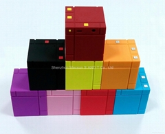Mini Mondrian Style Bluetooth Speaker EM-27